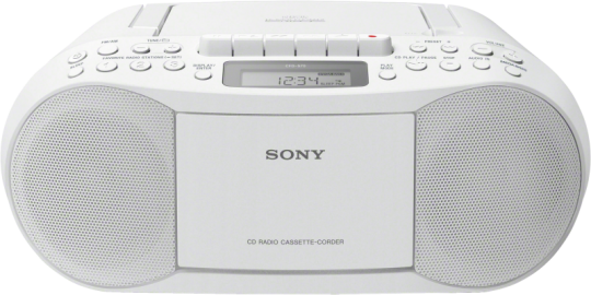 Sony CFD-S70W Weiss